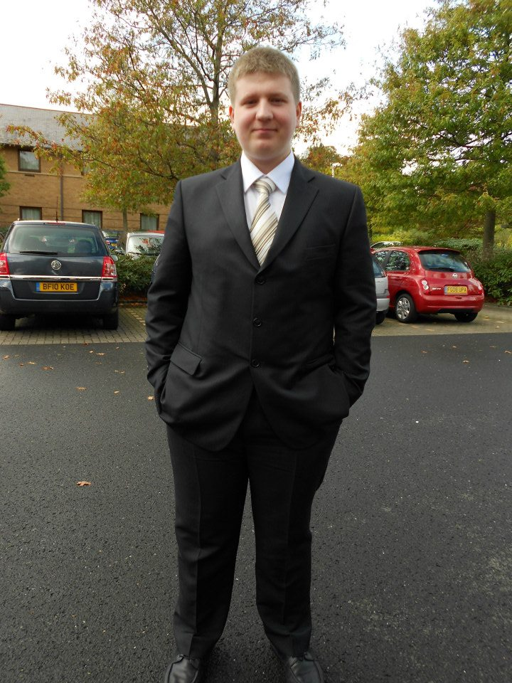 6th October 2011. That suit? Really uncomfortable.