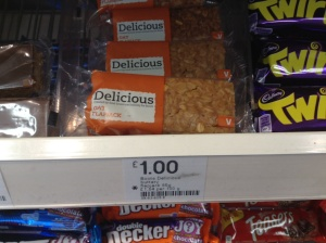 Sometimes a good flapjack is much better than any crisps.
